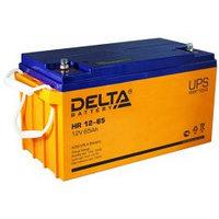 Аккумулятор DELTA HR 12-65, 12V/65A*ч