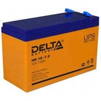 Аккумулятор DELTA HR 12-7,2, 12V/7,2A*ч