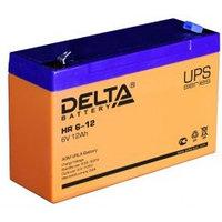 Аккумулятор DELTA HR 6-12, 6V/12A*ч