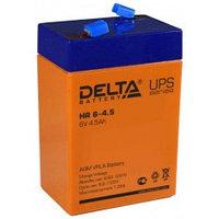 Аккумулятор DELTA HR 6-4,5, 6V/4,5A*ч