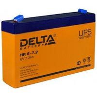 Аккумулятор DELTA HR 6-7,2, 6V/7,2A*ч