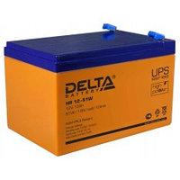 Аккумулятор DELTA HR 12-51W, 12V/12A*ч