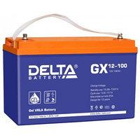 Аккумулятор DELTA GX 12-100, 12V/100A*ч