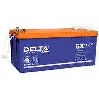 Аккумулятор DELTA GX 12-200, 12V/200A*ч