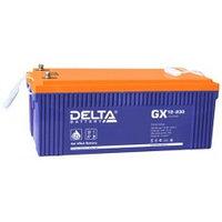 Аккумулятор DELTA GX 12-230, 12V/230A*ч