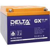 Аккумулятор DELTA GX 12-24, 12V/24A*ч