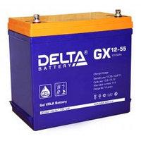 Аккумулятор DELTA GX 12-55, 12V/55A*ч