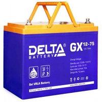 Аккумулятор DELTA GX 12-75, 12V/75A*ч