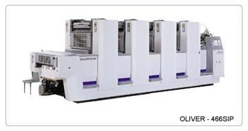 Листовые офсетные печатные машины SAKURAI OLIVER 466 SIP