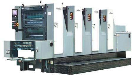 Листовая офсетная печатная машина формата А3+ GRONHI 524