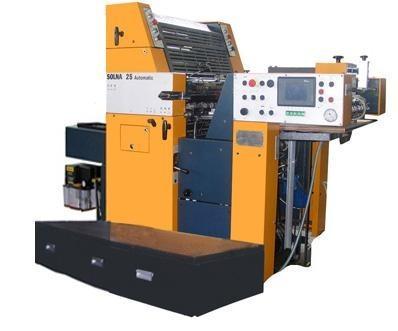 1-красочная офсетная печатная машина SOLNA 125 Automatic