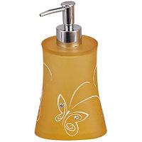 Дозатор для жидкого мыла Аквалиния оранжевые бабочки BPO-0713A