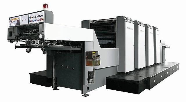 5-красочная офсетная печатная машина SOLNA 528 AL