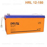 Аккумулятор DELTA HRL 12-180, 12V/180A*ч