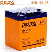 Аккумулятор DELTA HRL 12-155W, 12V/28A*ч