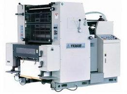 Листовая офсетная печатная машина формата GRONHI YK 660B-NP