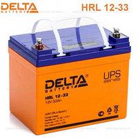 Аккумулятор DELTA HRL12-33, 12V/33A*ч