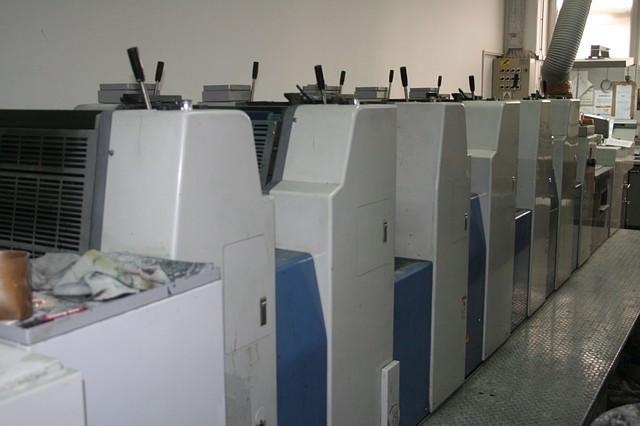 Комплект: RYOBI 524HXX 2000г. и RYOBI 526HXX+L 4-красочная и 6-красочная с лаком печатные машины