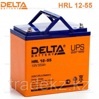 Аккумулятор DELTA HRL 12-260W, 12V/55A*ч, фото 2
