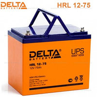 Аккумулятор DELTA HRL 12-320W, 12V/75A*ч