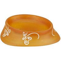Мыльница Аквалиния оранжевые бабочки BPO-0713D