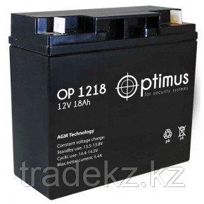 Аккумулятор OP1218, 12V/18A*ч, фото 2
