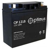 Аккумулятор OP1218, 12V/18A*ч