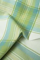 Ткань для штор, обивки, скатертей, салфеток, коттон в клетку