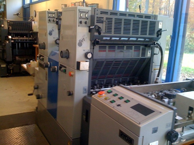 Ryobi 512H б/у, 1998 г. - 2-красочная печатная машина