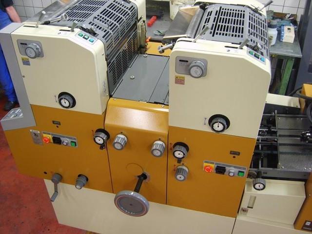 RYOBI 3302H 1999г. 2-х красочная офсетная печатная машина