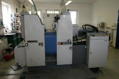 RYOBI 522HXX 2003 г. 2-х красочная офсетная печатная машина