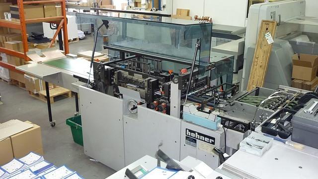 HOHNER HSB 5000, 1999 год, Листоподборщик, линия ВШРА, тетрадная подборка