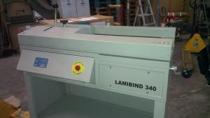 Термоклеевой биндер LamiBIND 340, 2005,  торшонирование, обложка в ручную