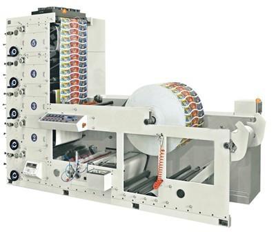 4-х красочная Флексографская печатная машина ATLAS-850
