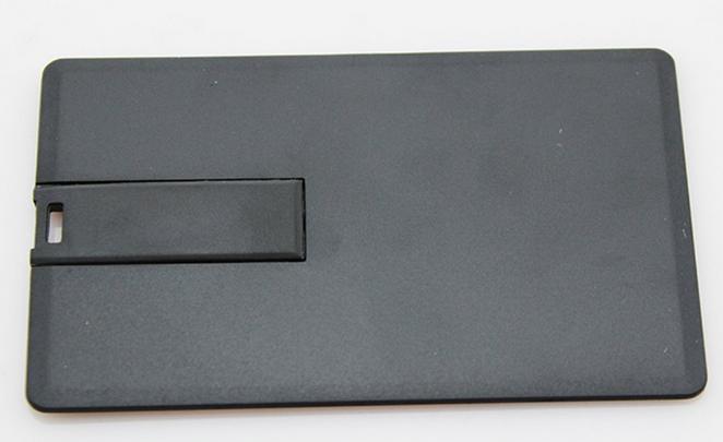 Флешка визитка черная 8 гб без нанесения. Бесплатная доставка по Казахстану.