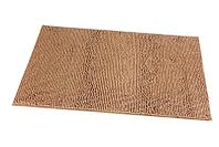 Коврик для ванной Fixsen Metra МА1246I коричневый 1-ый 50х70см
