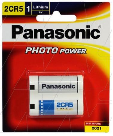 Батарейка литиевая Panasonic 2CR5 6v для фототехники