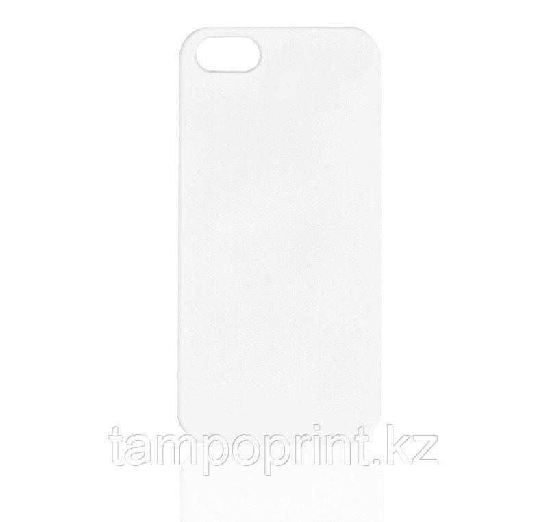 Чехол белый для iPhone 4/4s (soft touch)