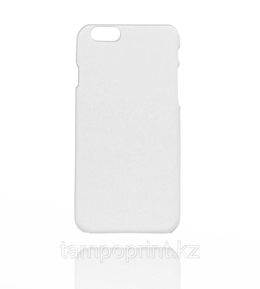 Чехол белый для iPhone 6/6s (soft touch)
