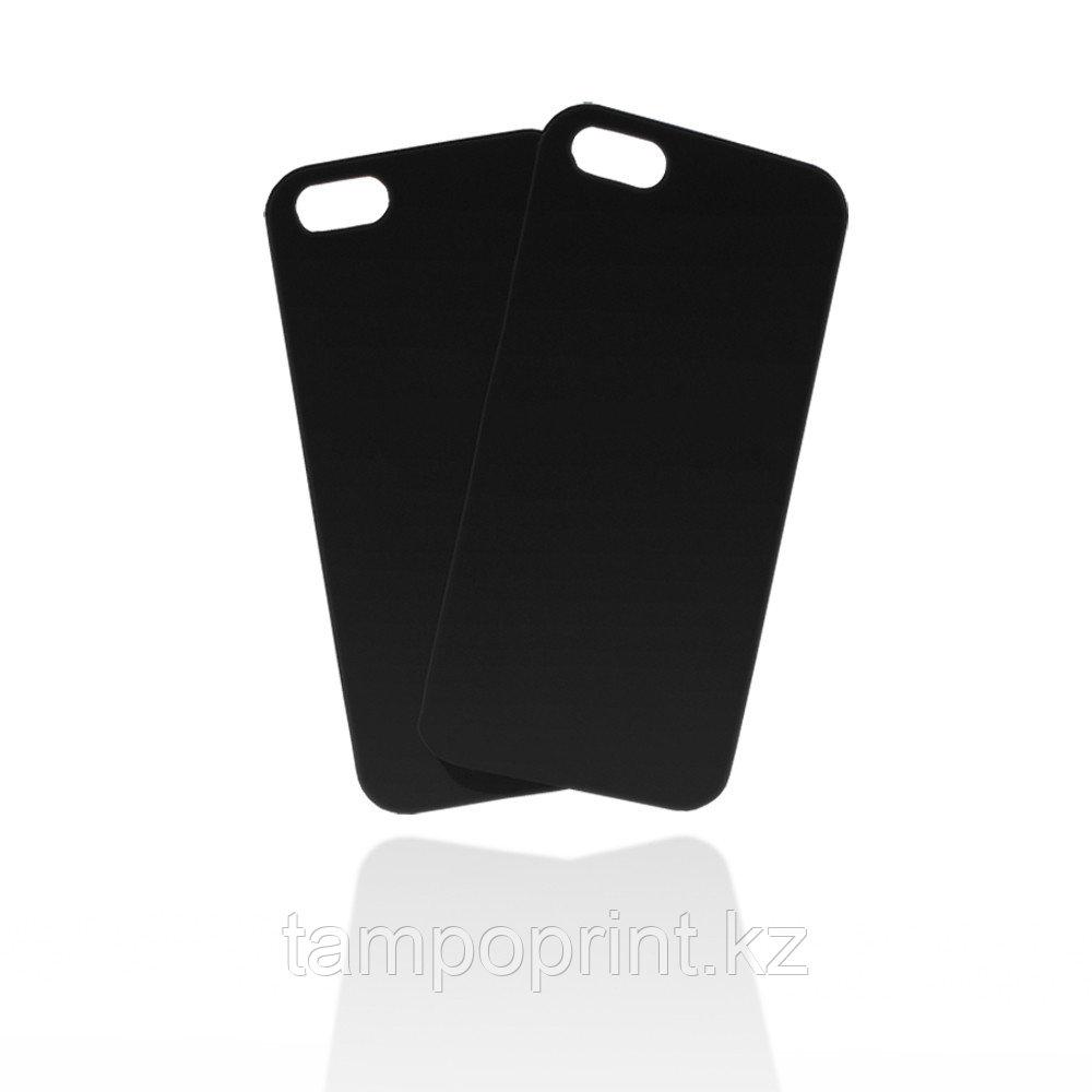 Чехол черный для iPhone 5/5s (soft touch)