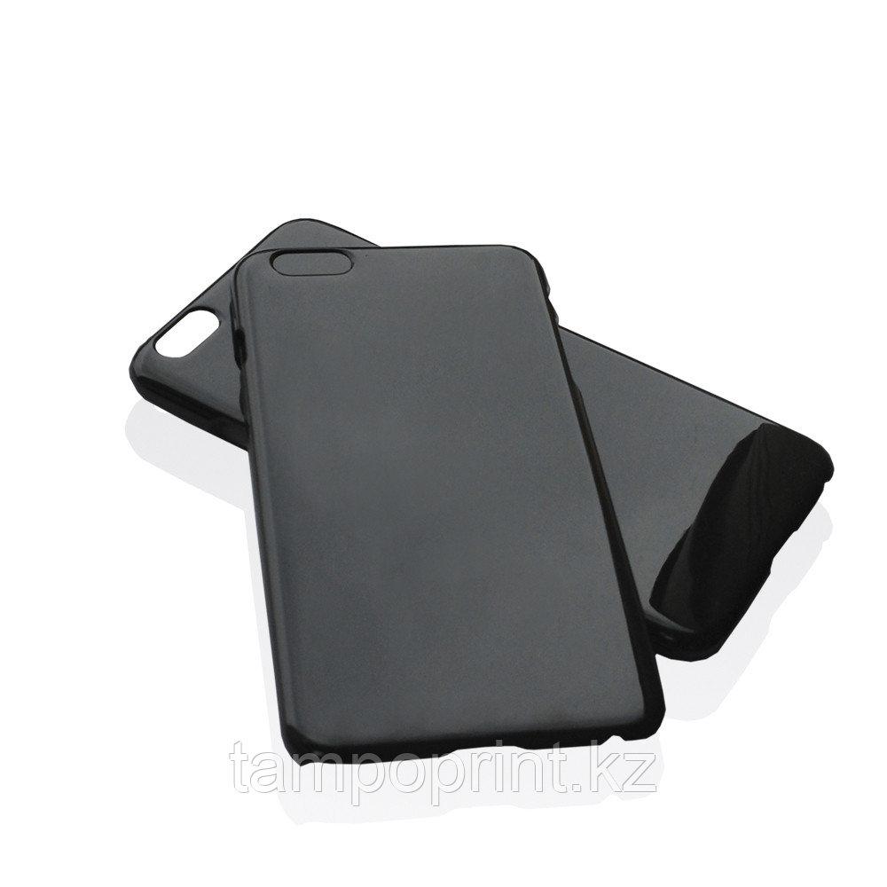 Чехол черный для iPhone 6 Plus/6s Plus (глянцевый)