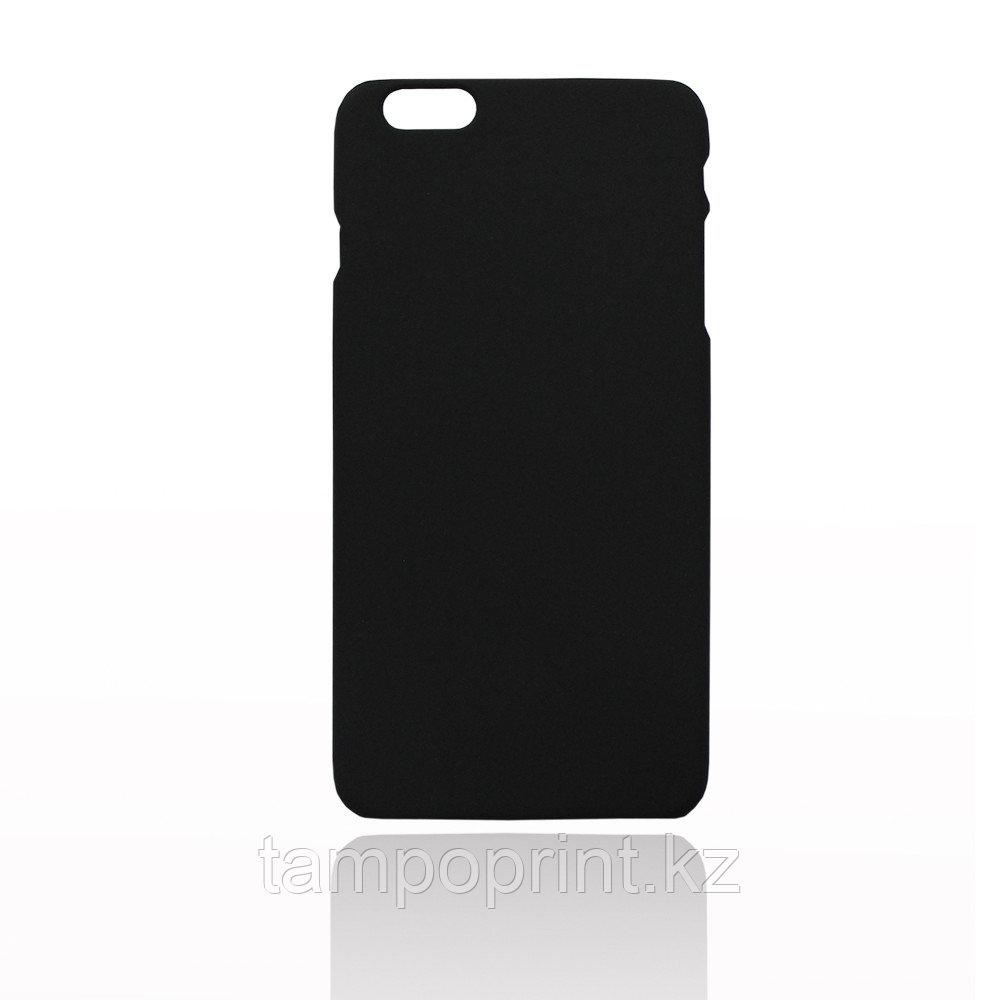 Чехол черный для iPhone 6 Plus/6s Plus (soft touch)