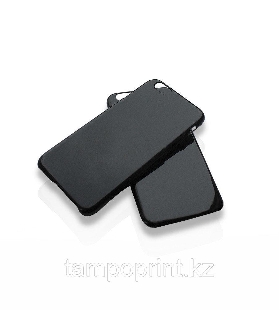 Чехол черный для iPhone 6/6s (глянцевый)