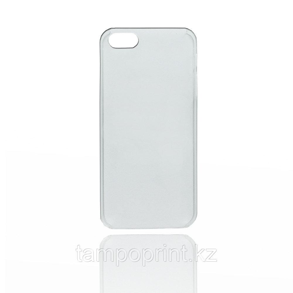 Чехол прозрачный для iPhone 5/5s (глянцевый)