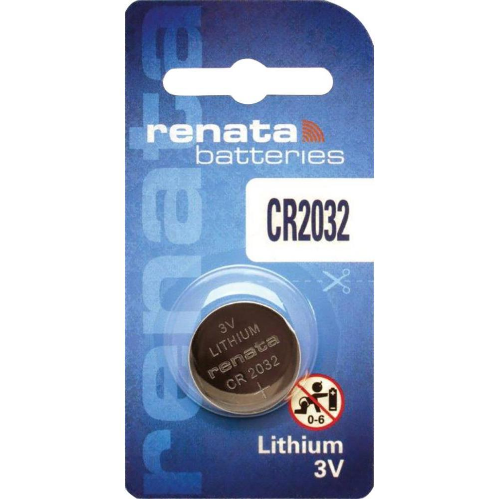 Батарейка CR2032 Renata 200mAh, 1 шт, блистер