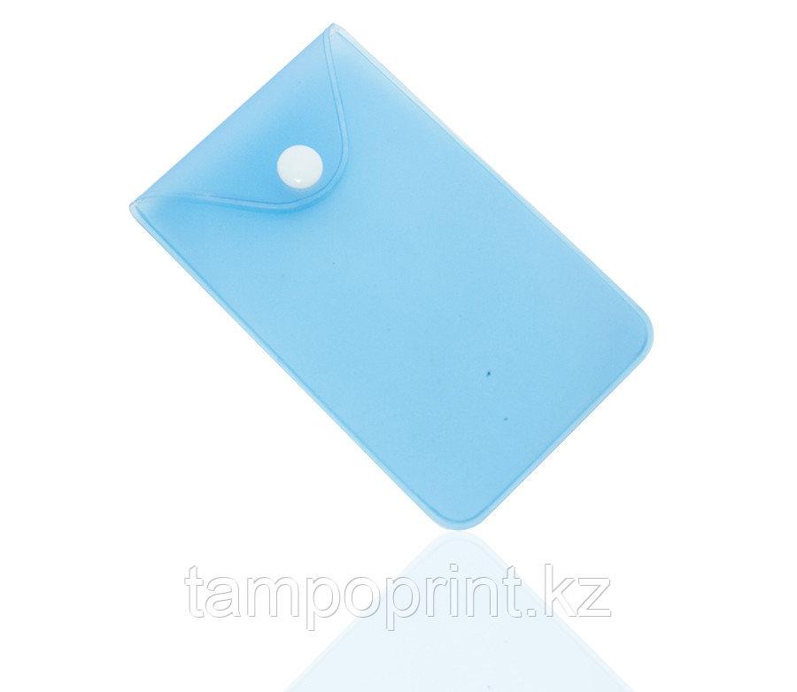U-PK003 (карман с кнопкой) синий