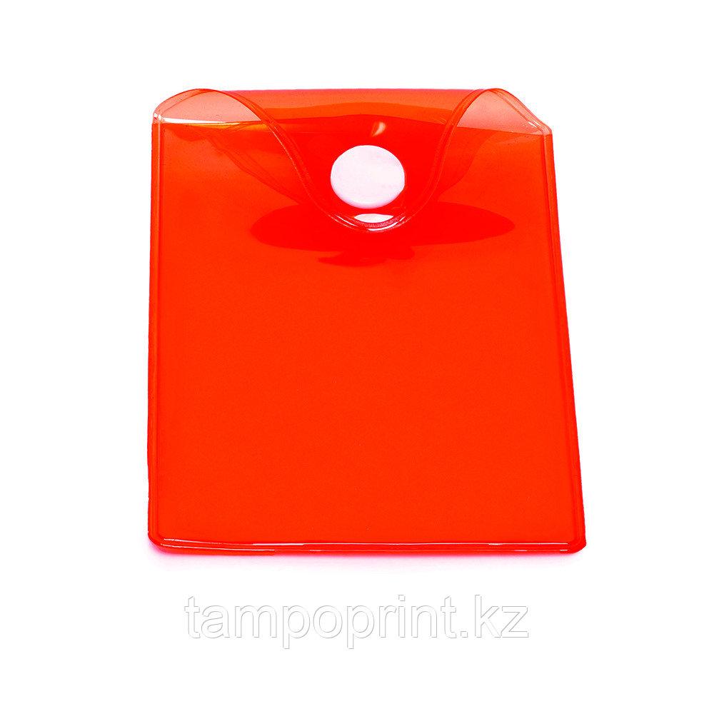 U-PK003 (карман с кнопкой) красный