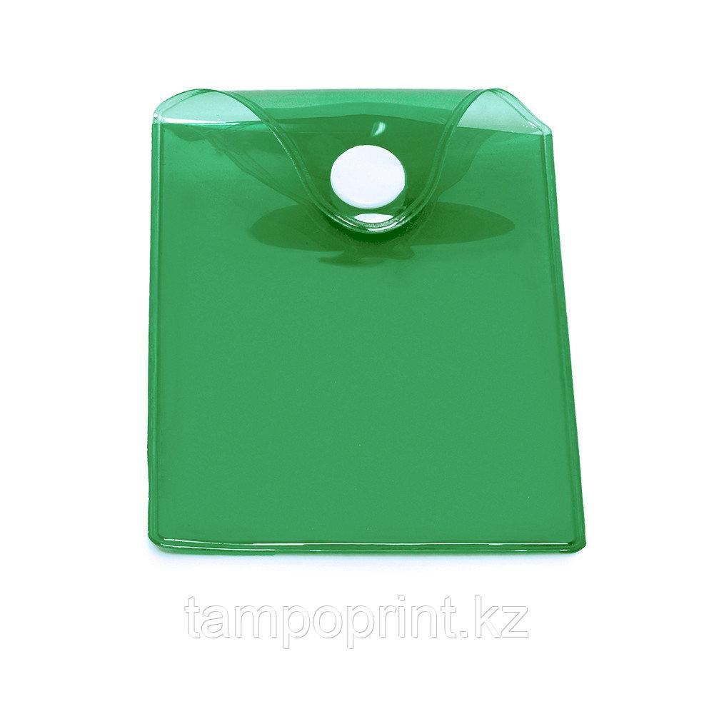 U-PK003 (карман с кнопкой) зеленый