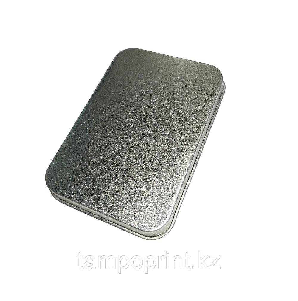 U-PK017 (метал.коробка) НЕОБХОДИМО ВЫРЕЗАТЬ ЛОЖЕМЕНТ серебро