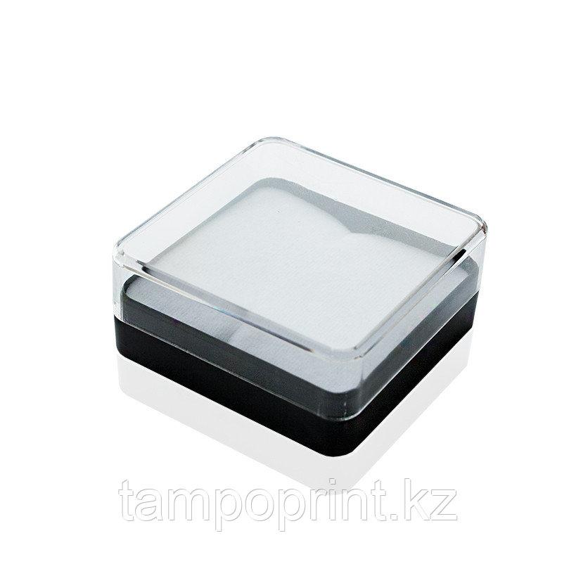U-PK020 (футляр пластик.) черный с прозрачной крышкой, 55х55